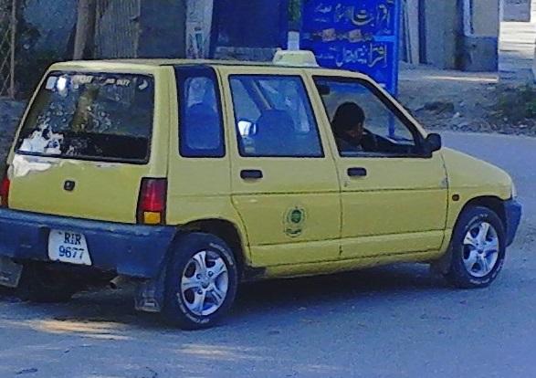 Suzuki-Alto-660 Taxi-1993