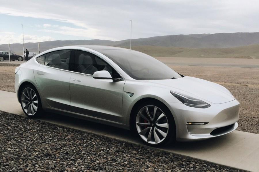 Model 3 with Autopilot 2.0