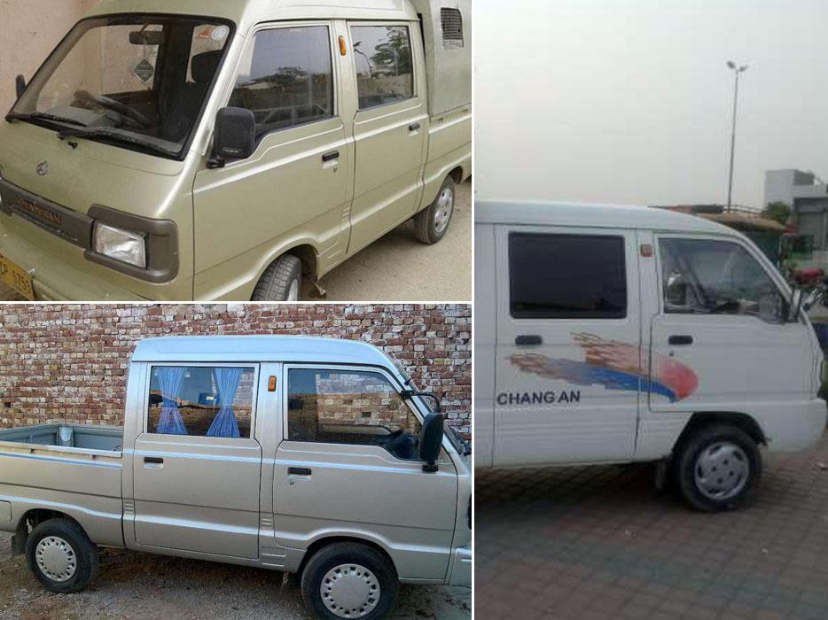 Changan Double Cabin Pickups in Pakistan