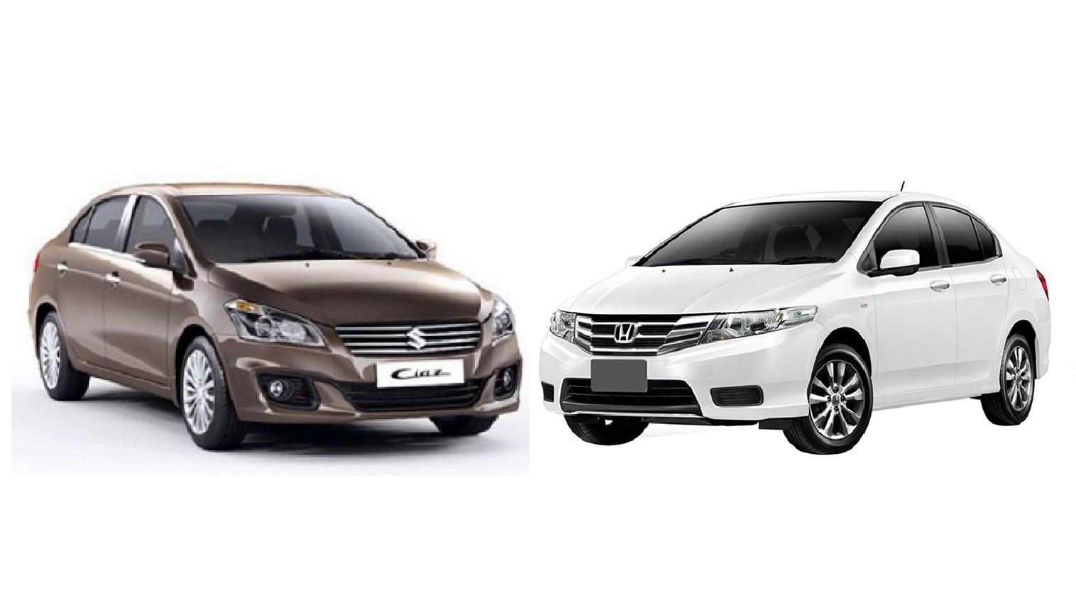 Hondacity-vs-suzukiciaz-e1460721788986