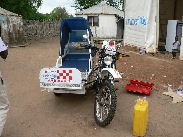 موٹر سائیکل ایمبولنس