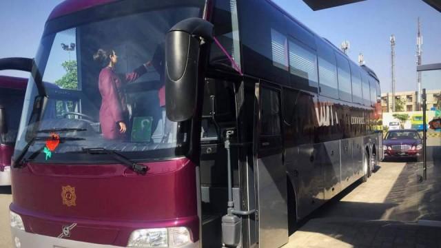 volvo luxury bus pakistan