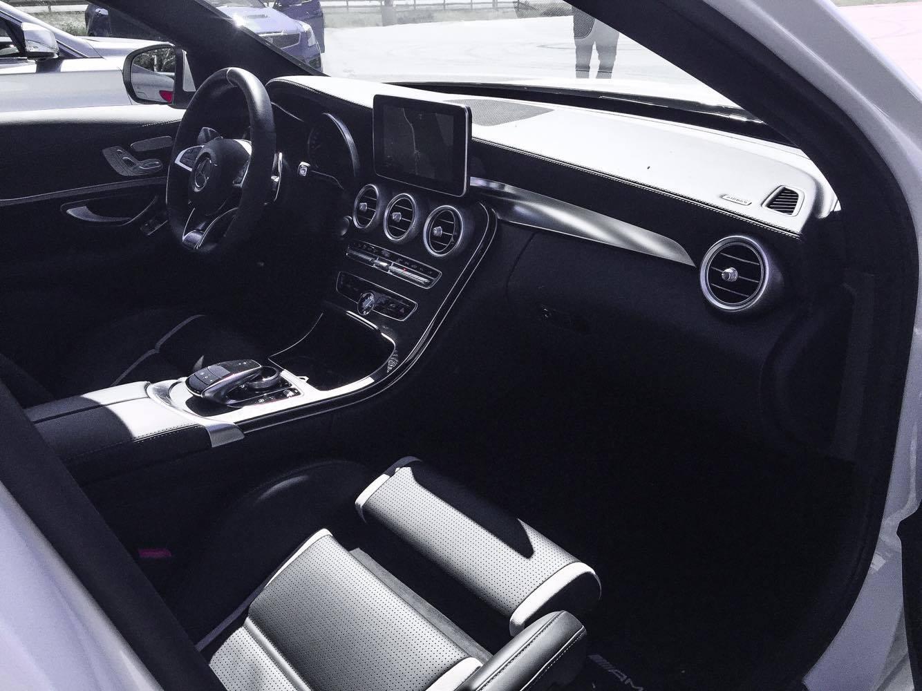 Mercedes-Benz C63 S AMG Interior