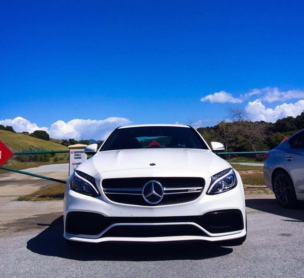 Mercedes-Benz C63 S AMG Front