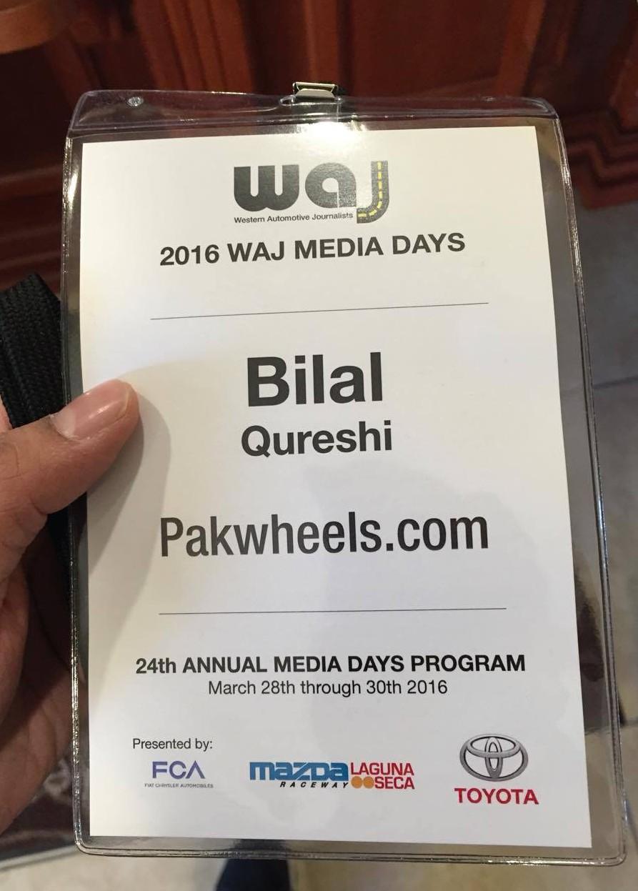 2016 WAJ Media Day Laguna Seca