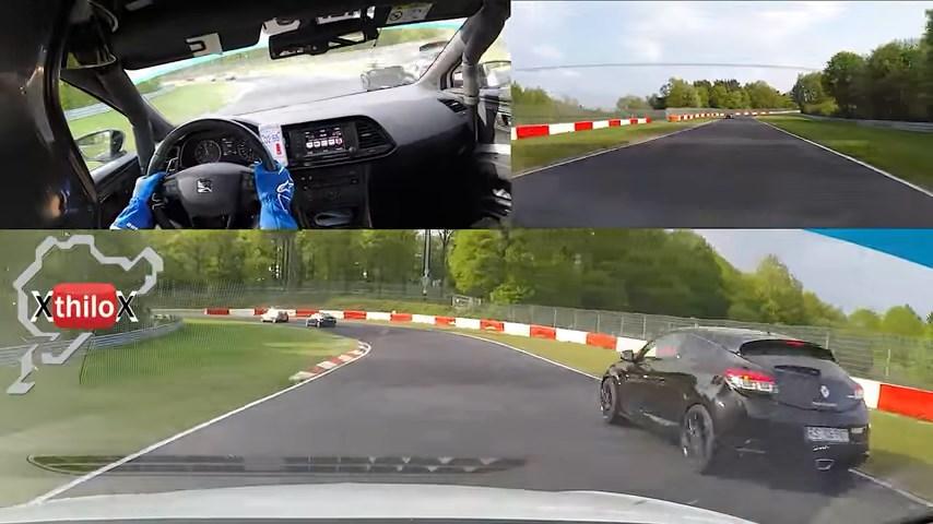 2016 Ford Focus RS Seat Leon Cupra
