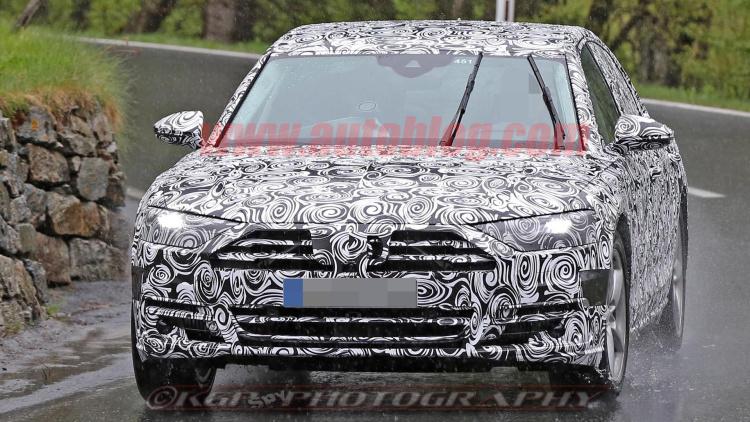 2018 Audi A8 Spy Shots (11)