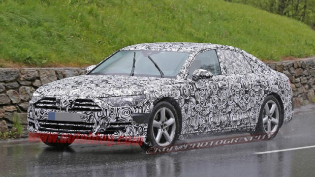 2018 Audi A8 Spy Shots (12)