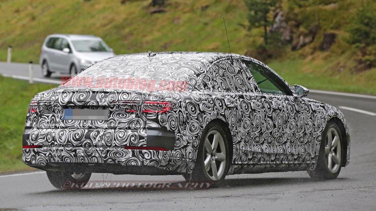 Audi A Spy Shots