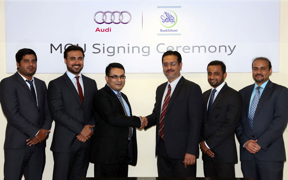 Audi Pakistan BankIslami Premier Systems