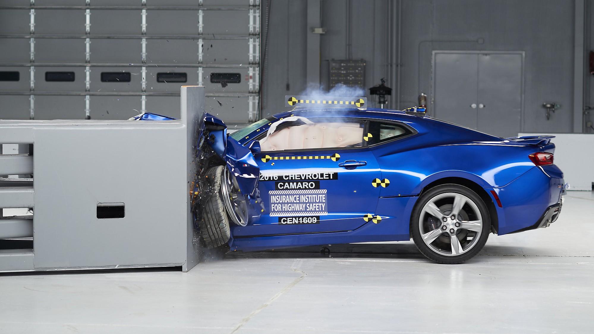 Chevrolet Camaro Crash Testing