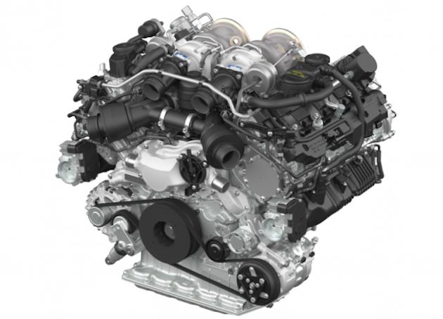 Porsche V8