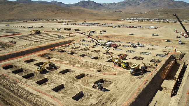 Tesla Gigafactory back in November 2014