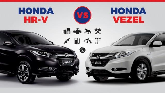 Pakwheels Infographics 2016 Honda Hr V Vs Vezel