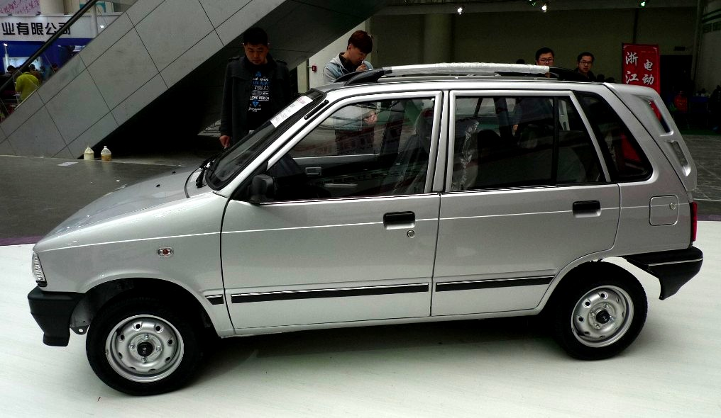 Cheapest car of china is a revamped suzuki mehran for Maruti 800 decoration