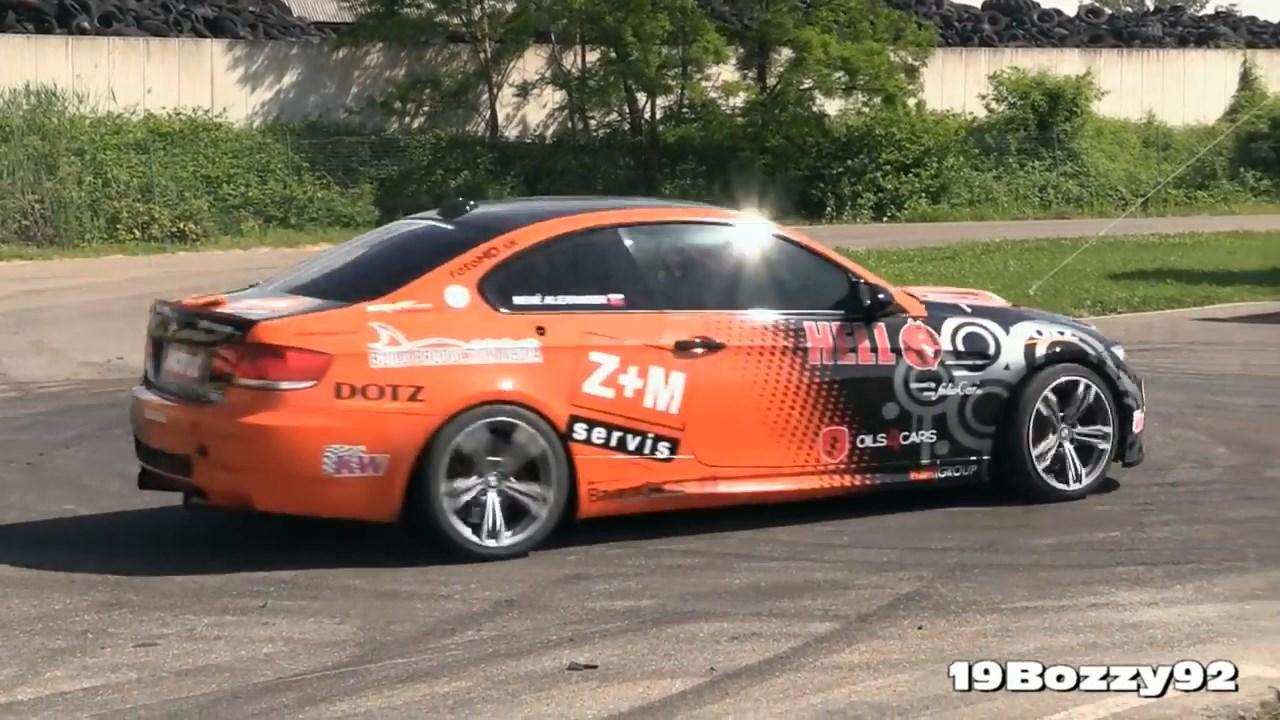 Ken Block Drift King >> Video: Watch The Toyota-Powered E92 BMW M3 Drift On A Track - PakWheels Blog