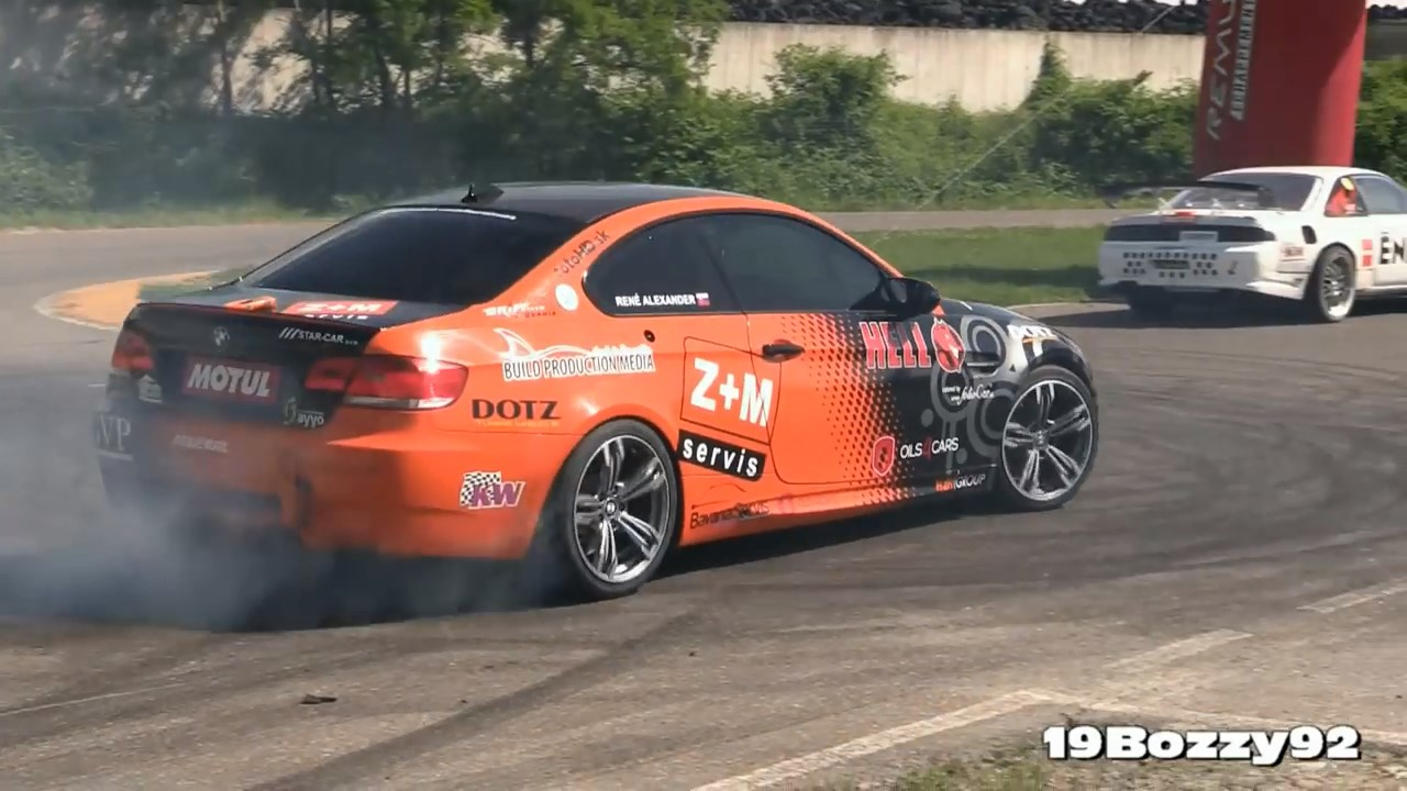 Ken Block Drift King >> Video: Watch The Toyota-Powered E92 BMW M3 Drift On A Track - PakWheels Blog