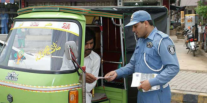 City-traffic-police-lahore