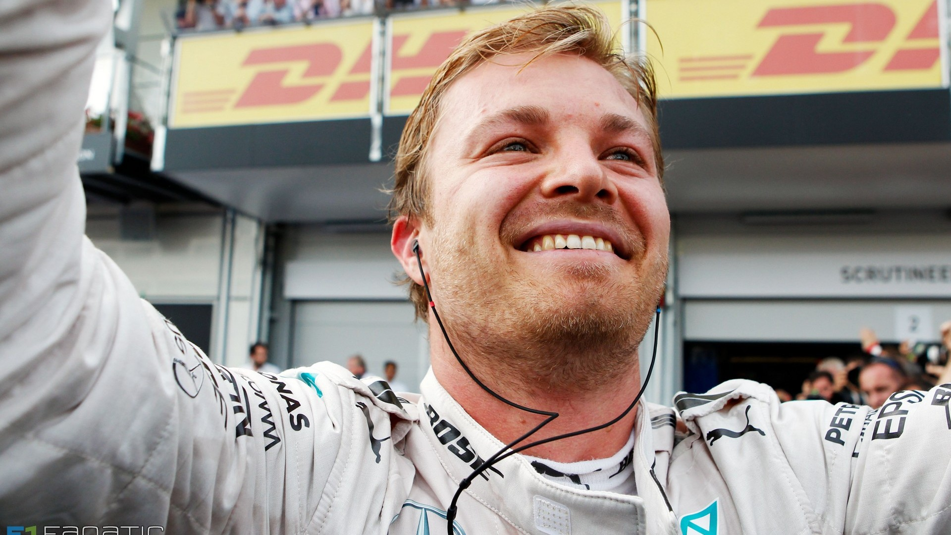 Nico Rosberg European GP