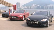 Tesla in Hong Kong