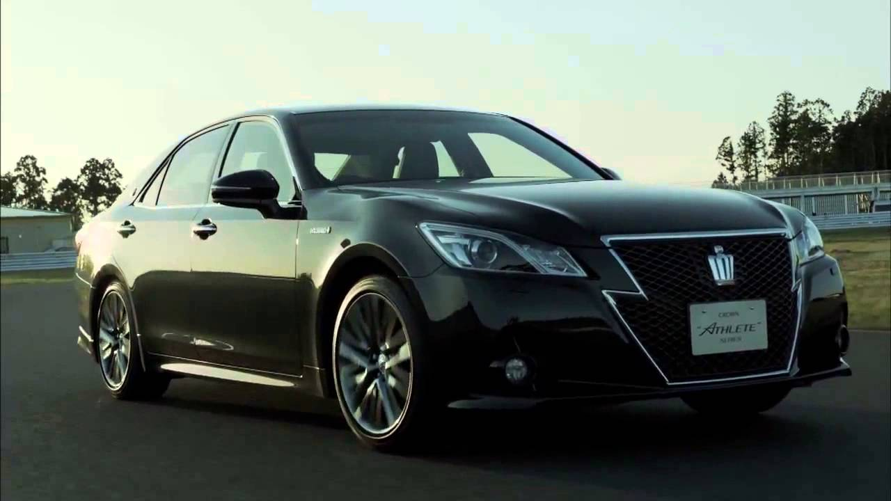 Toyota Crown Athlete Hybrid Cars