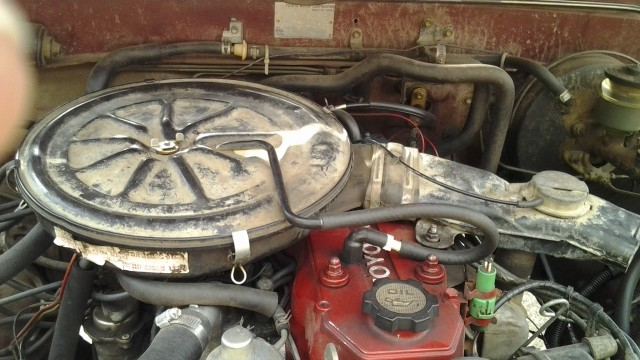 carburetor air cleaner