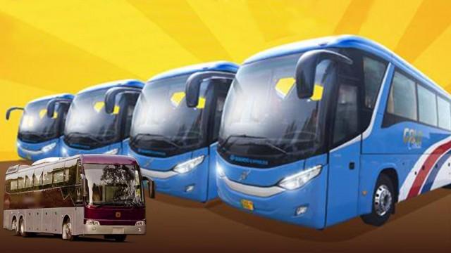 daewoo express brings volvo busses in its new gold class