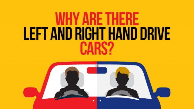 Why are there right and left hand drive cars?