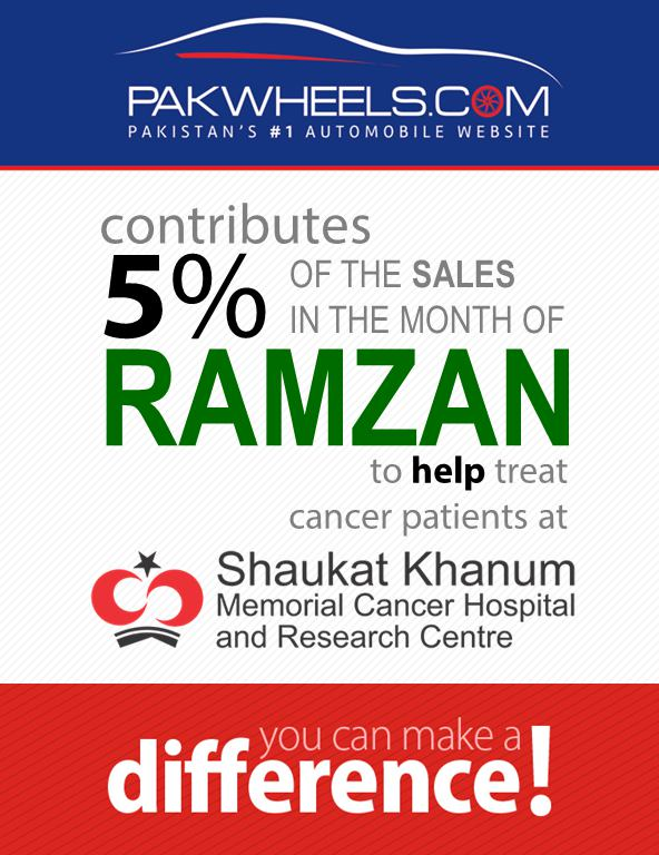 PakWheels to donate 5pc to Shaukat Khanum