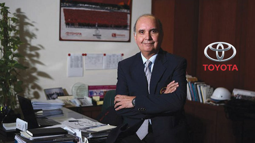 CEO of Toyota Indus Parvez