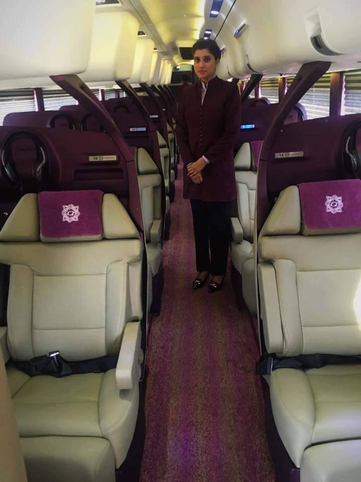 Daewoo Express Brings Volvo Busses In Its New Gold Class Pakwheels Blog