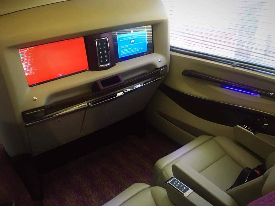 Daewoo Express brings Volvo Busses in its New Gold Class ...