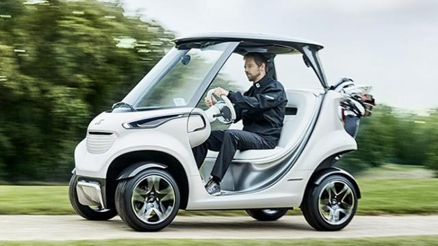 Mercedes Luxury Golf Car