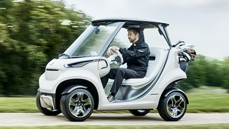 Mercedes Luxury Golf Car