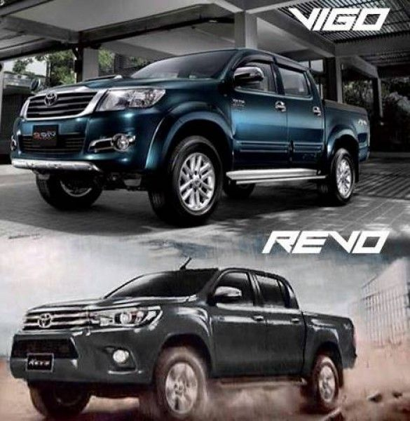 Eighth Generation Toyota Hilux vs Seventh Generation Toyota Hilux