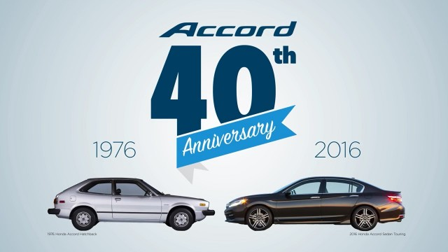 40 Years of America in Honda Accord feature