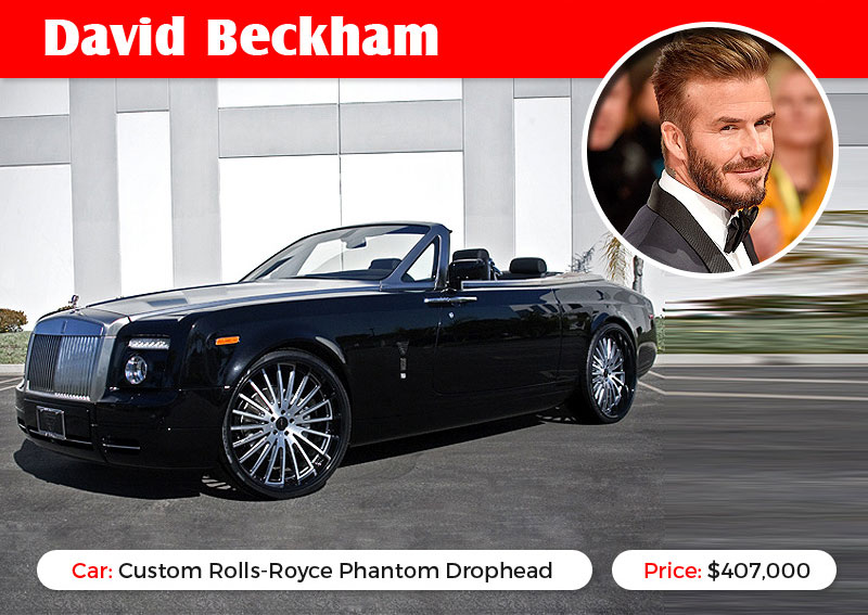 David Bekham Rolls Royce