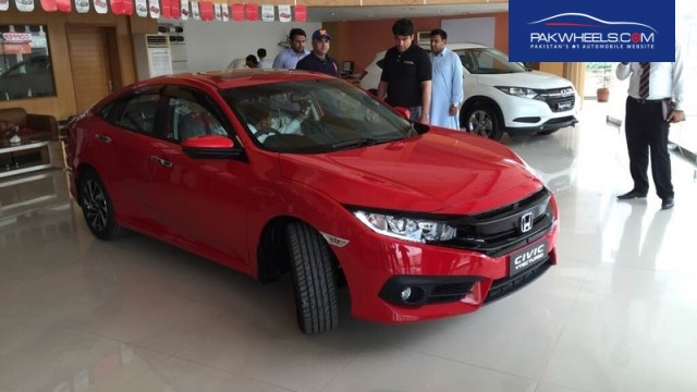 Launch underway of Pakistan's Honda Civic