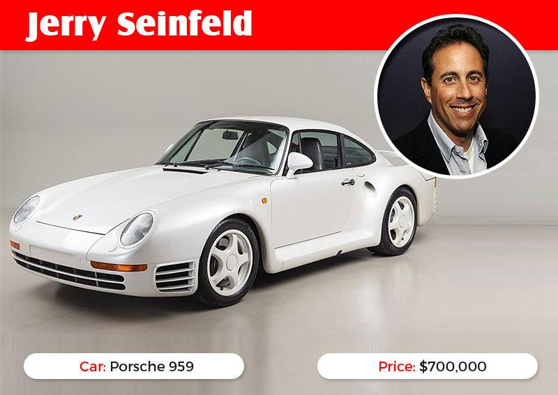 Jerry Seinfeld Porsche 959
