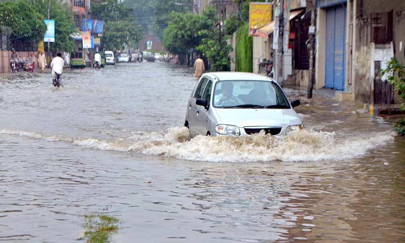 Lahore Rain Water
