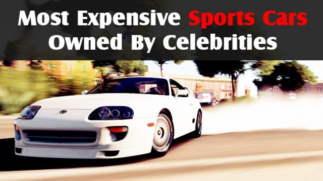 10 Celebrities With Stunning Car Collections Pakwheels Blog