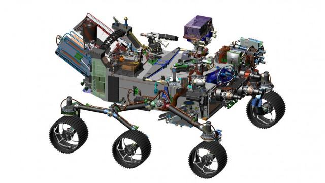 NASA Mars Rover Feature