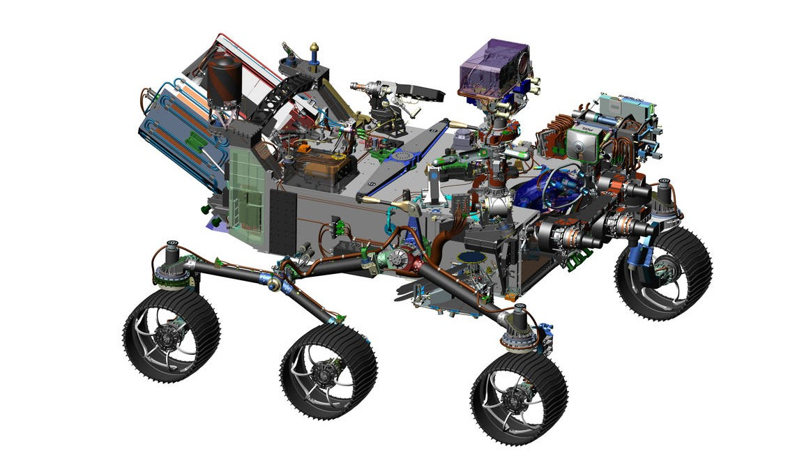 NASA Mars Rover Feature