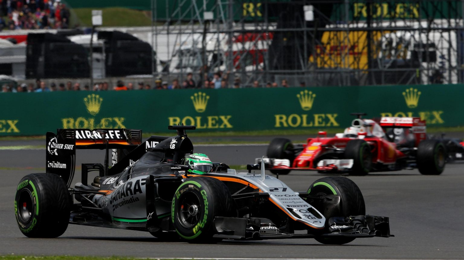 Nico in his Force India