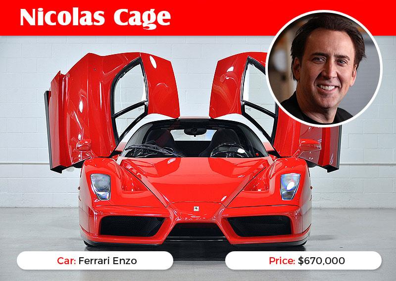 Nicolas Cage Enzo