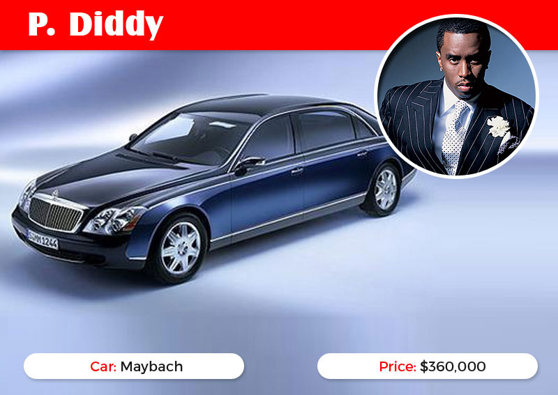 Sean Combs Maybach
