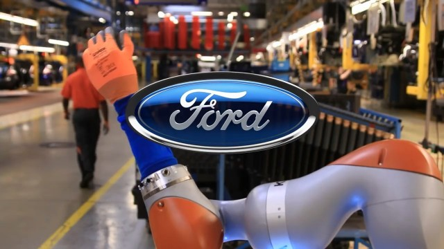 Robots To Help Assembly Line Work At Ford Motor Company