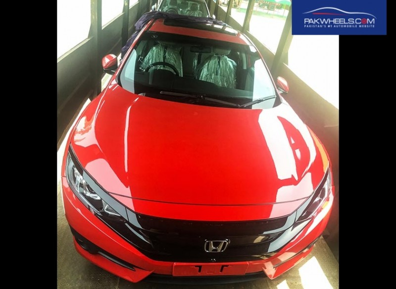 PKDM All New Civic 2016 in Pakistan
