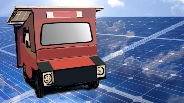 peshawar solar car cecos