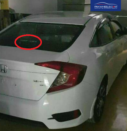 All New Honda Civic 1.8-liter VTI Oriel in Pakistan